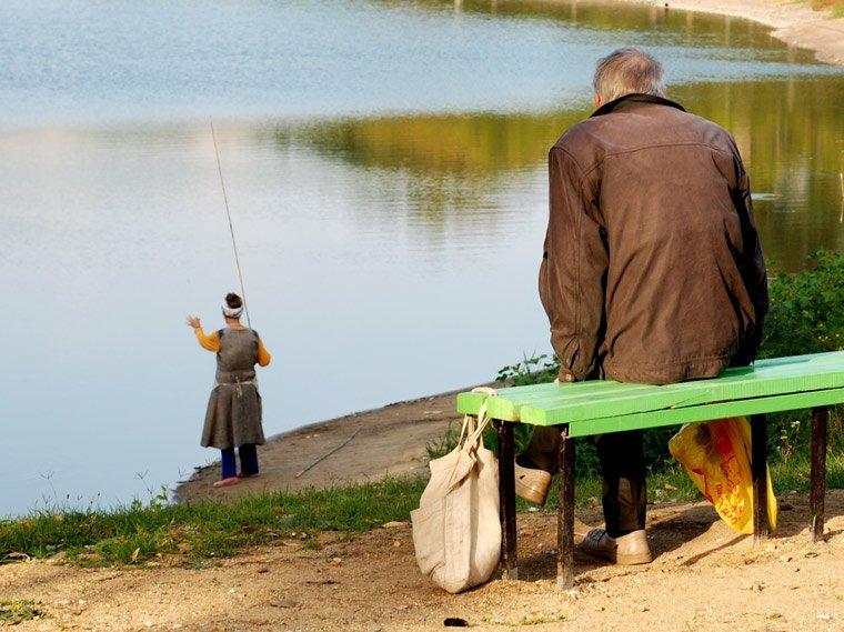 Ловить рыбу но не поймал