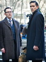 "Michael Emerson and Jim Caviezel from CBS-""Person of Interest"""