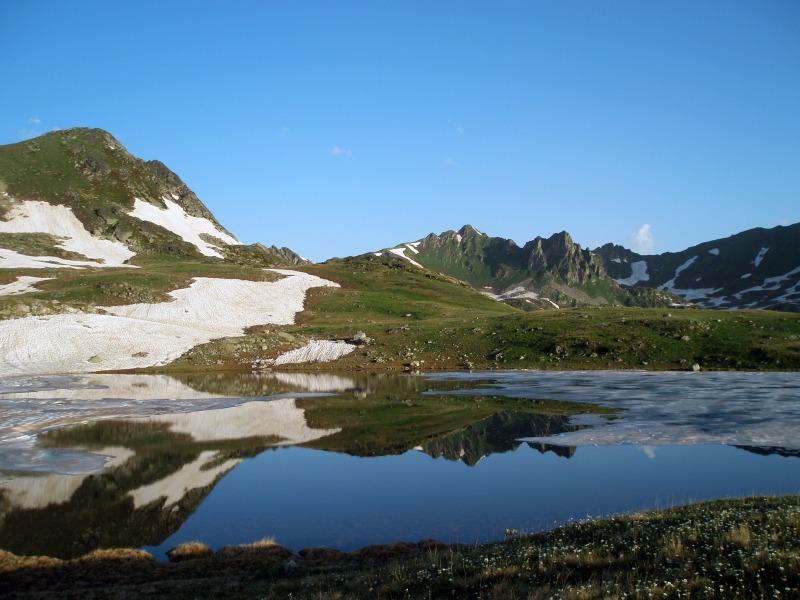 Пятиозерье. Малое озеро.