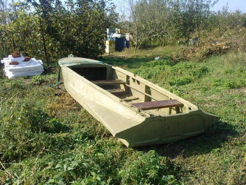 купить лодку моторную казанка с булями