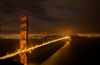 Night Golden Gate Bridge