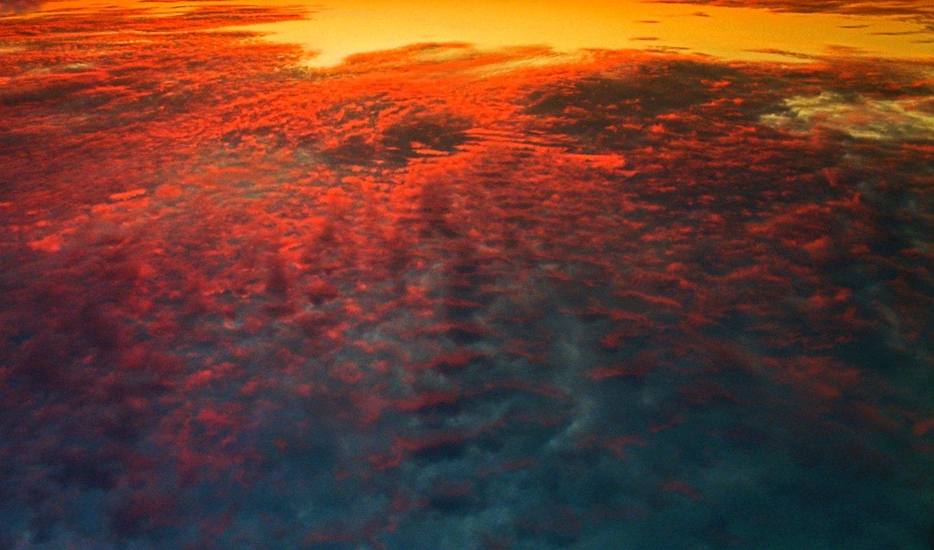 Полет над планетой солярис