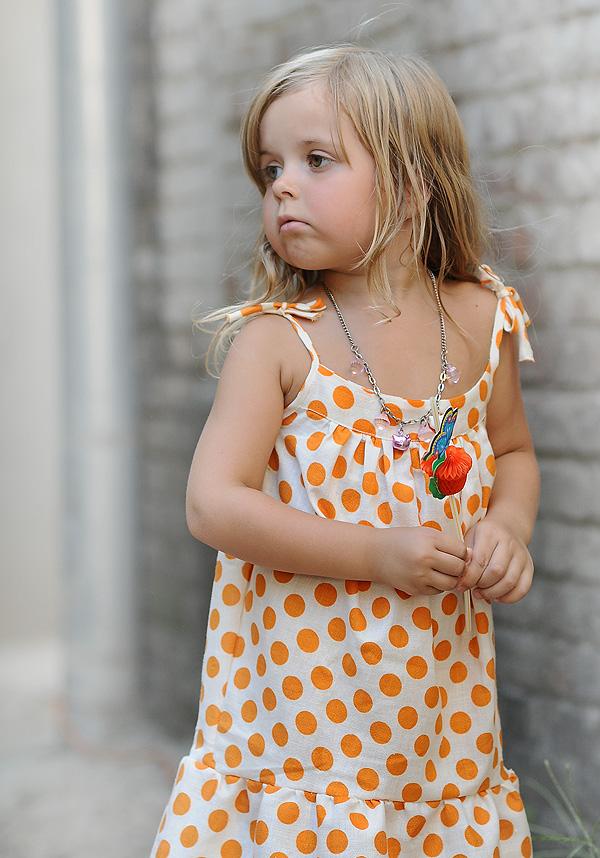 Gorgeous blonde teen dress